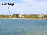 Cottage with 166' of private waterfront 20 mins from Tobermory