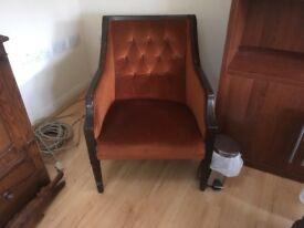 Comfortable corner chair