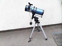 Konus Newtonian Telescope Konusmotor-130 130/1000 and 2x barlow lens 1.25
