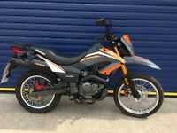 IMMACULATE 2016 KEEWAY TX125cc ENDURO BIKE , ONLY 400 MILES FULLY SERVICED , HPI CLEAR , LIKE NEW