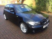 2010 BMW 118D M-SPORT BLACK MANUAL
