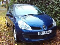 Renault Clio Extreme 16v 3dr (blue) 2007