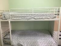 Metal bunk beds. very good condition like new