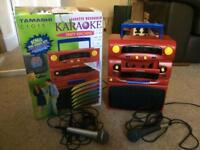 Tamashi C1015 Karaoke party machine with 2 microphones