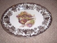 Palissy Game Series various sized plates in excellent condition.