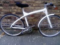 Ultra Lightweight 7 Speed Urban Bike in Full Working Condition