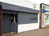 Shop in busy housing development