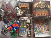 Munchkin Quest and Doom - Board Games.
