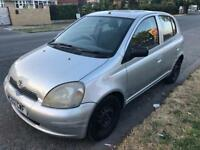 2002 TOYOTA YARIS 1.0 GS 5DR