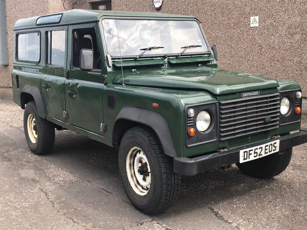 *** landrover defender 110 Td5 52 swap px car van ***** | in Lasswade,  Midlothian | Gumtree