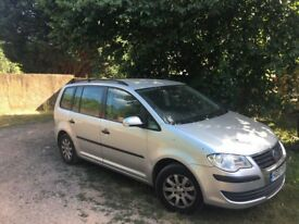 Volkswagen vw Touran (not verso zafira focus) 83k FSH 7 seater