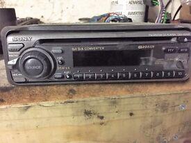 sony car cd Radio player cdx 4250R