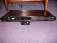 Yamaha SPX90 rack mount digital guitar processor. 1980's.
