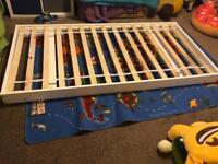 Single bed frame or trundal bed