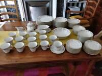 Noritake china dinner and tea service