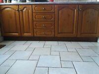 Solid Oak Kitchen/Doors For Sale (excellend condition)