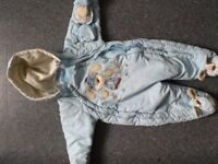 Baby winter suit age 6-9 months