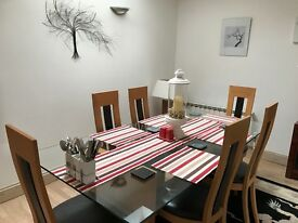 Dining Table with matching Sideboard