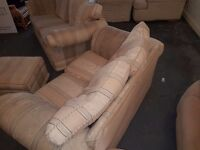 Free 2 x 2 seater sofas and puffe