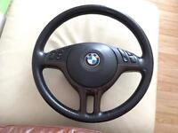 BMW STEEERING WHEEL