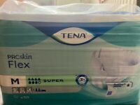 Tena adult incontinence pads