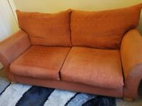 3 seater cloth settee FREE
