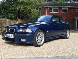 BMW E36 328i Sport Auto Avus Blue Last owner since 2005
