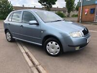 IMMACULTE SKODA FABIA 1.9 TDI - LOW MIL.- FULL SERVICE HISTORY (13 stamps) - 3 months warranty