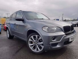BMW X5 3.0d M Sport 5dr Auto, WITH FULL SERVICE HISTORY, FULL LEATHER, SAT NAV, PARKING SENSORS