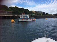 28ft fibreglass fishing boat