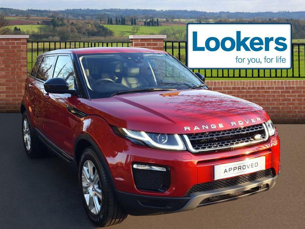 land rover range rover evoque td4 se tech red 2017 01 06 in chelmsford essex gumtree. Black Bedroom Furniture Sets. Home Design Ideas