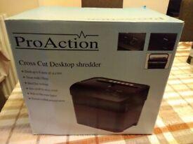 Pro Action Cross Cut Paper Shredder
