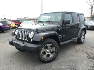 2017 Jeep WRANGLER UNLIMITED Sahara*DEMO* 0% FIN AVAILABLE*