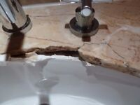 Marble, Granite, Quartz floors, worktops, bathrooms repair and restoration