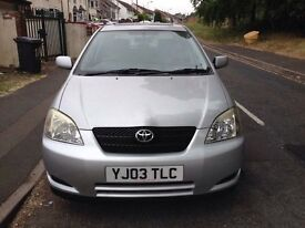 Toyota corolla 1.6 patrol Automatic .12 months MOT full service history