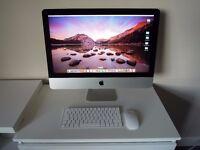 "Apple iMac 21.5"", as new, virtually unused."