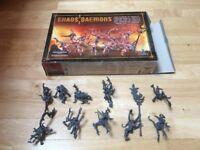 Set of 10 Pre-Built Pink Horrors of Tzeentch, Chaos Daemons (Warhammer & Warhammer 40,000)