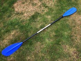 TNP Kayak Canoe Paddle 215cm LH left handed