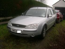 Mondeo estate mk3 TDCI 130 breaking for spares
