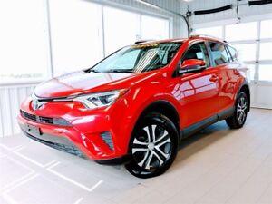 2016 Toyota RAV4 LE+ AWD + A/C + BT + CAMERA RECUL, TRÈS PROPRE!