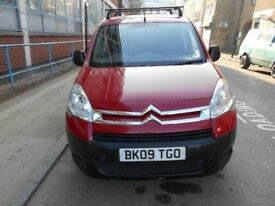 2009 CITROEN BERLINGO 16HDI 625X 3 SEATER PANEL VAN YEAR MOT PARROD SYSTEM BLUETOOTH ELECTRIC PACK