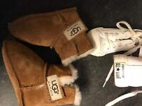 Toddler size 4 converse & uggs