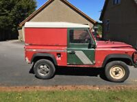 Project Land Rover Defender