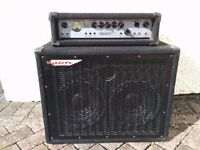 Ashdown MAG 300 bass amp and cab