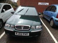 Rover 45, Lovely Condition , Genuine 55k miles