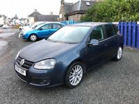 2008 VW GOLF GT TDI 140\\ONE YEAR MOT\\6 MONTHS WARRANTY\\LOVELY CONDITION\\LEATHER INTERIOR