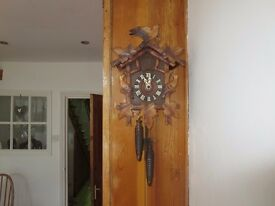 Antique traditional cuckoo clock