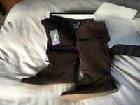 Brand new Next suede over the knee boots size 6/39