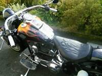 Harley Davidson Fatboy bobber 2001