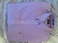 %%Wholesale 7 New Original Mens Shirts size M/L luxury shirt giant barbour banana republic cotton